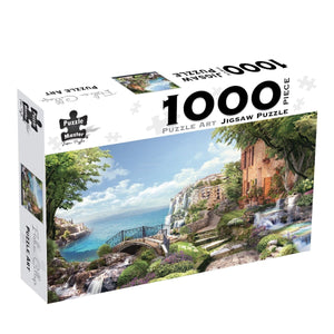 Puzzle Art 1000pc - Italian Collage, [Product Type] - Daves Deals
