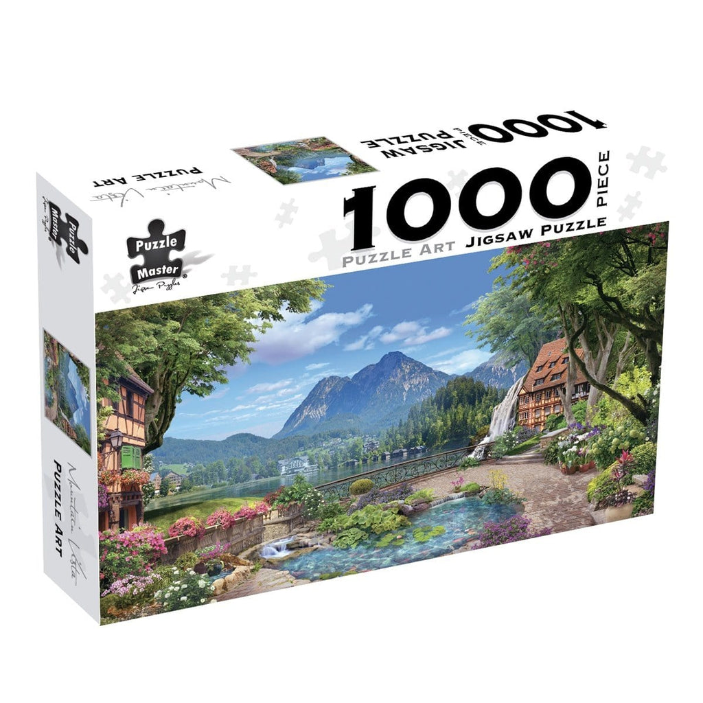 Puzzle Art 1000pc - Mountain Vista, [Product Type] - Daves Deals