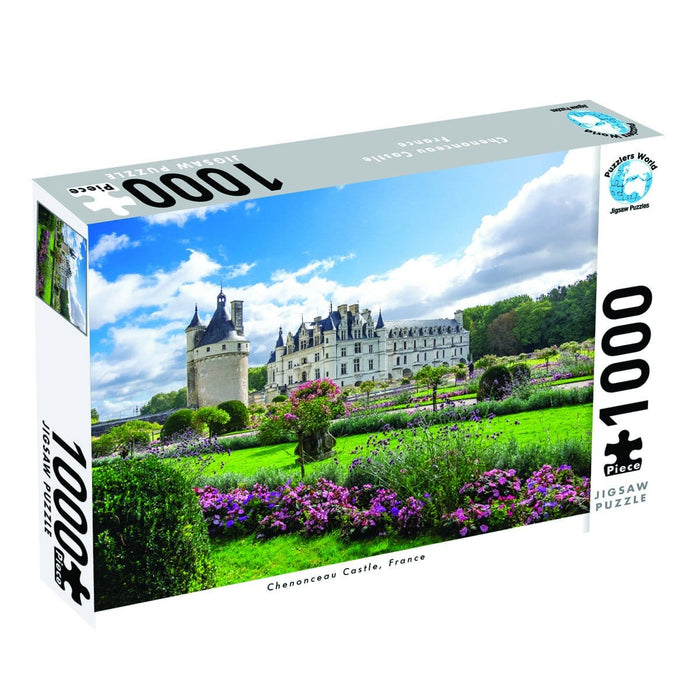 Puzzlers World - Chenonceau Castle France