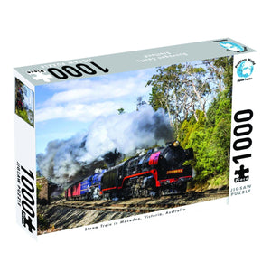 Puzzlers World - Steam Train Victoria, [Product Type] - Daves Deals
