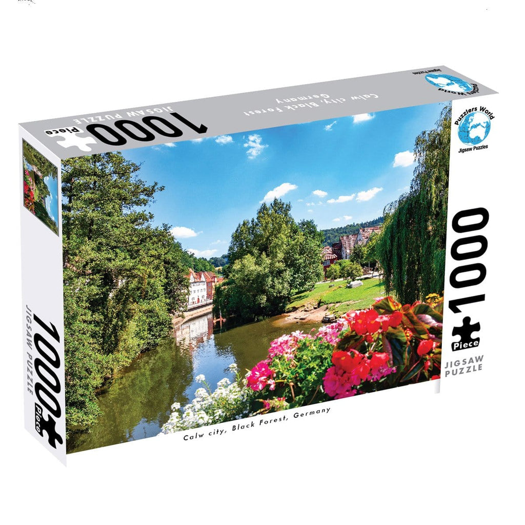 1000 Pce Puzzle - Calw City, Black Forest, Germany - Daves Deals
