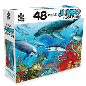 48 Piece Jumbo Floor Puzzle Underwater World, [Product Type] - Daves Deals