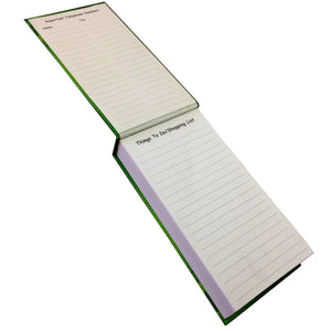 Green Pattern Notepad With Pen - Stationery - Daves Deals - 2