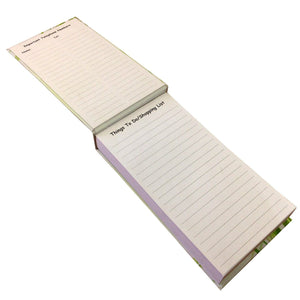 Green Lines Notepad With Pen - Stationery - Daves Deals - 2