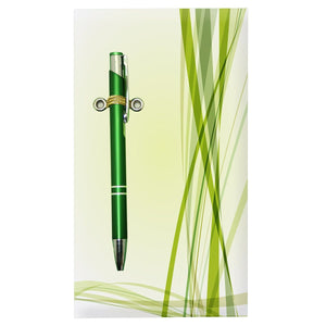 Green Lines Notepad With Pen - Stationery - Daves Deals - 3