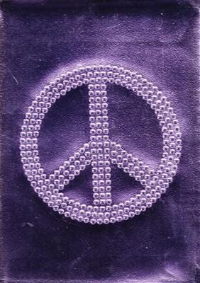 Bling Purple Peace Journal, [Product Type] - Daves Deals