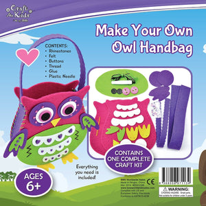 Make Your Own Owl Handbag - Craft Kits - Daves Deals - 2