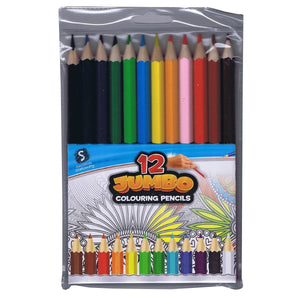 Scribbles Jumbo Pencils 12 Pack, [Product Type] - Daves Deals