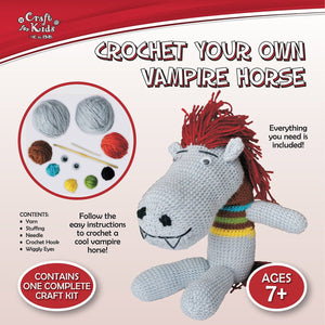 Crochet A Vampire Horse, [Product Type] - Daves Deals