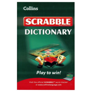 Collins Scrabble Dictionary, [Product Type] - Daves Deals