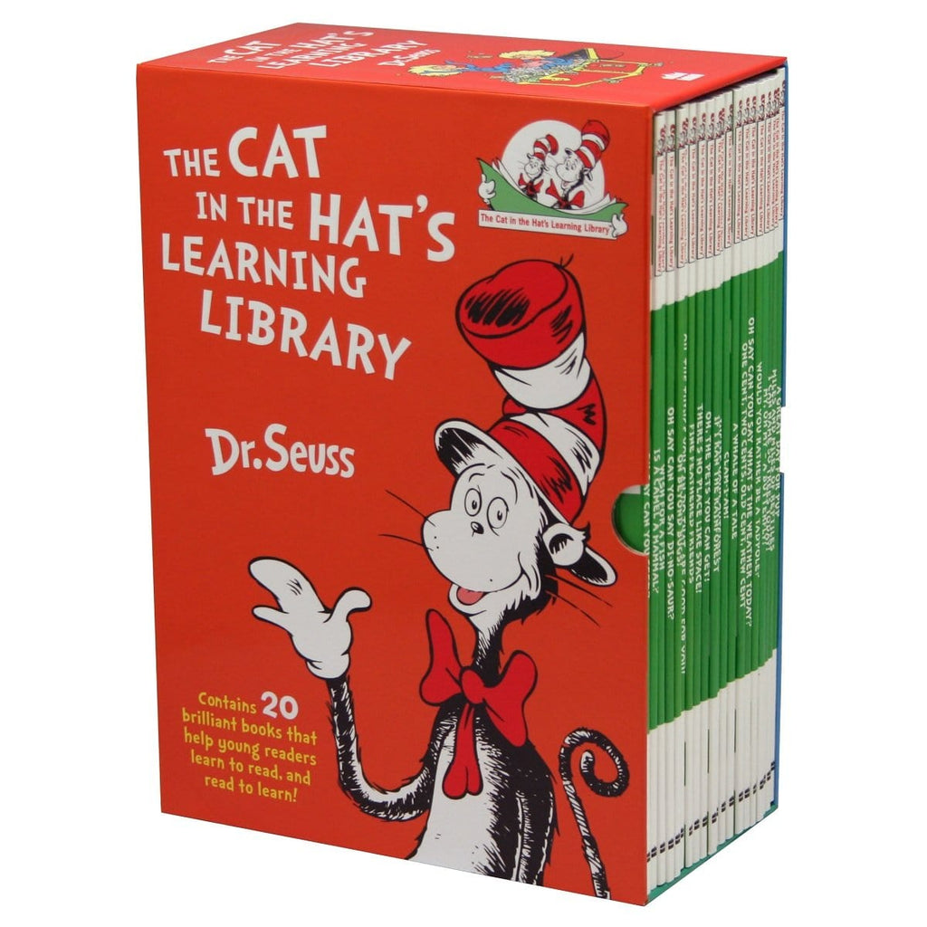 The Cat In The Hat's Learning Library by Dr. Seuss 20 Book Boxset - Daves Deals