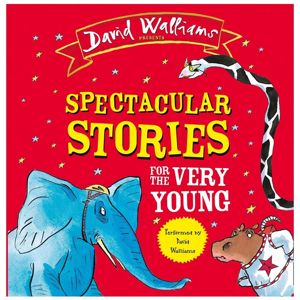 David Walliams Spectacular Stories For The Very Young CD