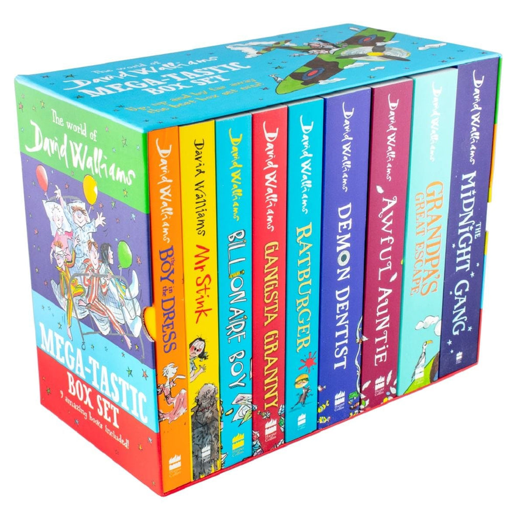 The World Of David Walliams Mega-Tastic Box Set - 9 Amazing Books Included!