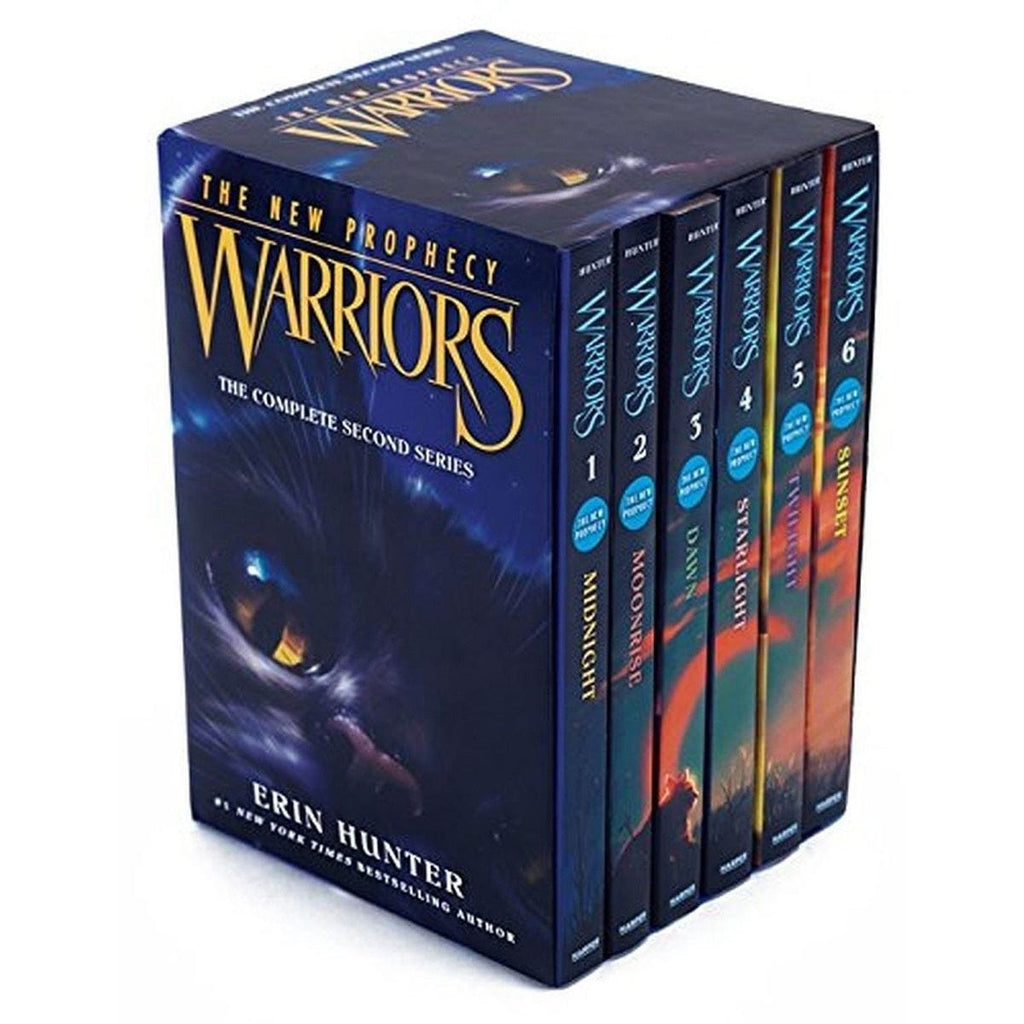 Warriors - The New Prophecy: Volumes 1 to 6