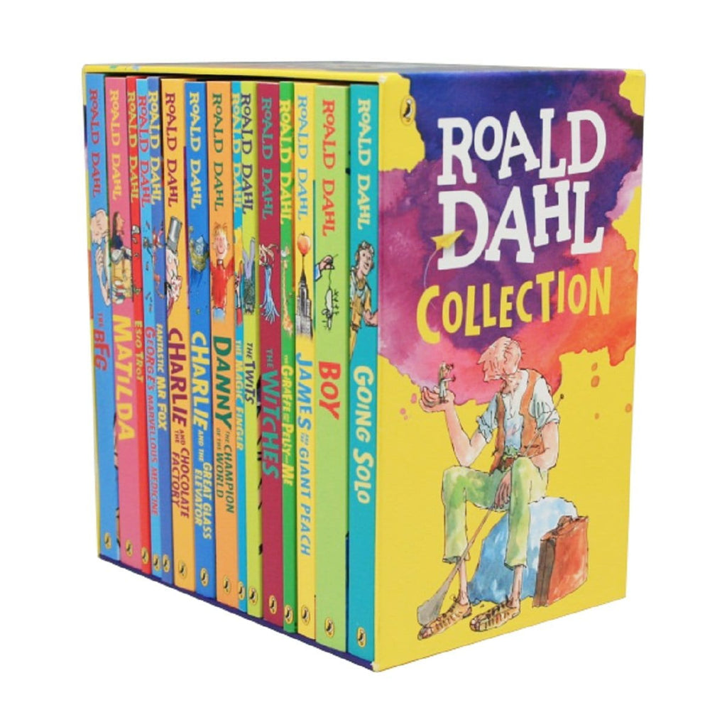 Roald Dahl Collection 15 Book Slipcase