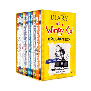 Diary Of A Wimpy Kid Collection – 10 Book Boxset