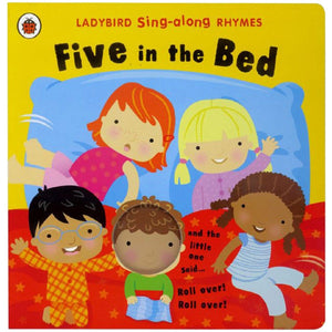 Sing-along Rhymes: Five in the Bed, by Ladybird, [Product Type] - Daves Deals