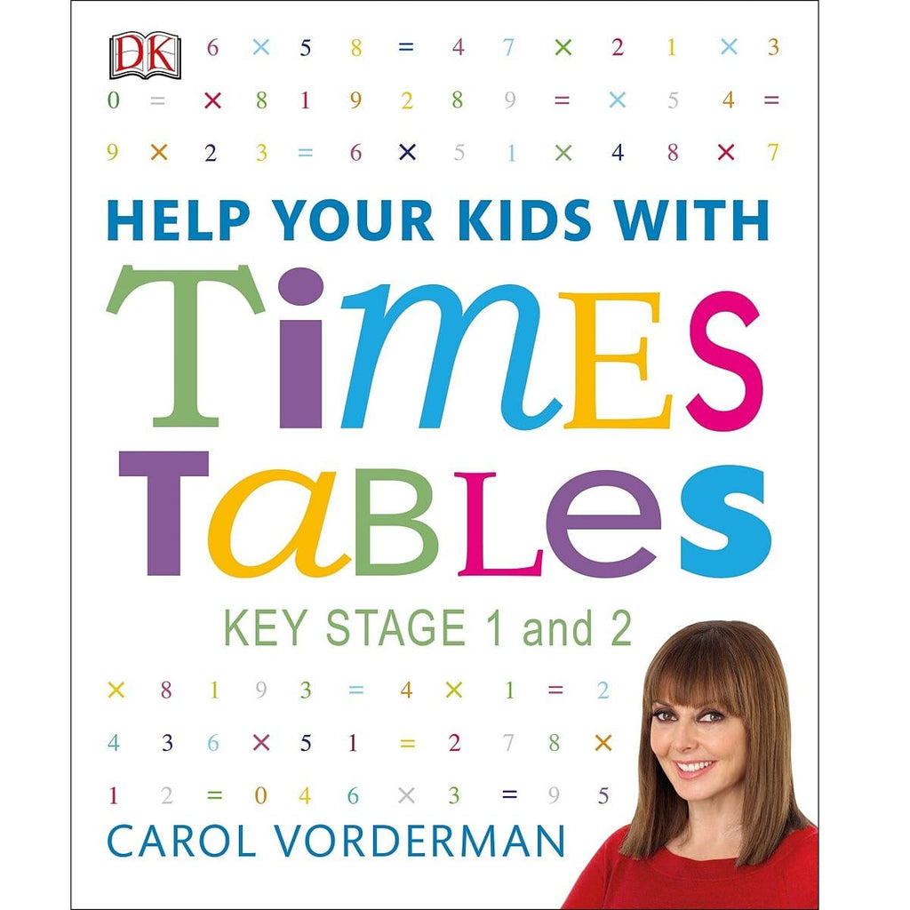 DK Help Your Kids With Times Tables, [Product Type] - Daves Deals