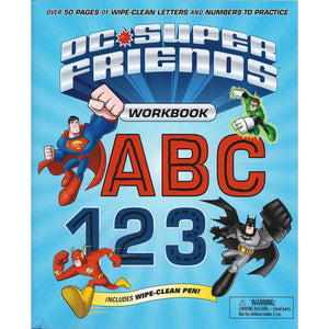 DC Super Friends Workbook ABC 123, [Product Type] - Daves Deals