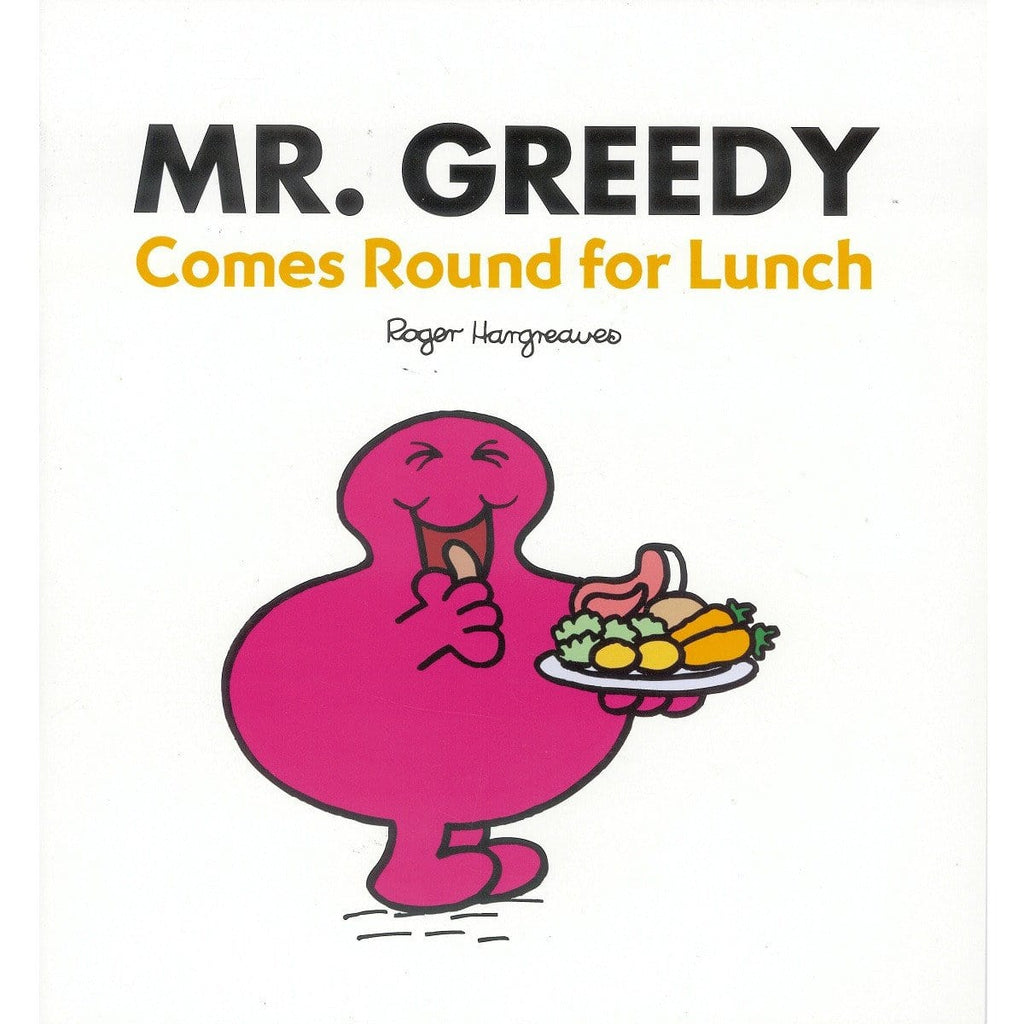 Mr. Greedy Comes Round For Lunch  - By Roger Hargreaves, [Product Type] - Daves Deals