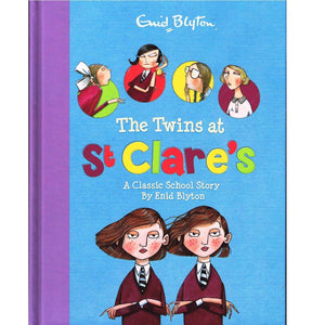 The Twins At St Clare's - By Enid Blyton, [Product Type] - Daves Deals