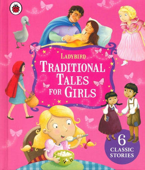 Traditional Tales for Girls - By Ladybird - Books - Daves Deals
