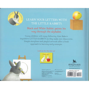Black and White Rabbit's ABC, [Product Type] - Daves Deals