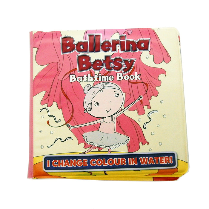 Bath Book Colour Change Book - Betsy Ballerina Bathtime