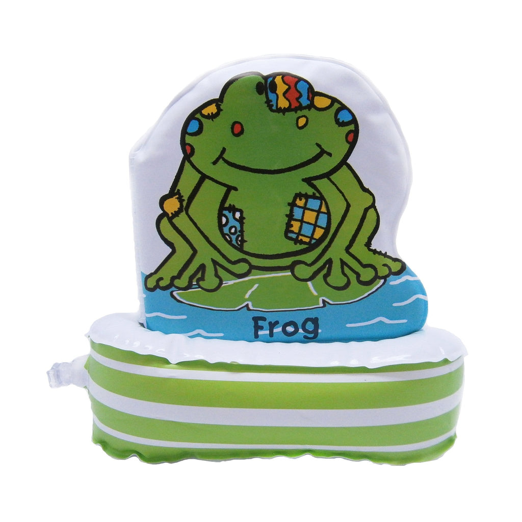 Floatee Book: Frog Bath Book - Books - Daves Deals