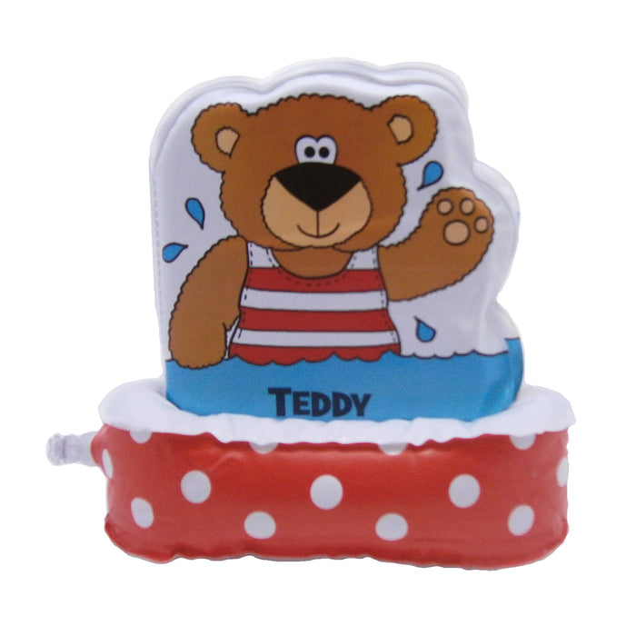 Bathtime Teddy, by Jo Joof