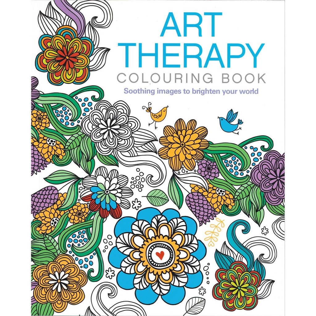 The Art Therapy Colouring book - Daves Deals