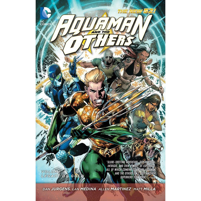 Aquaman and the Others Vol 1: Legacy
