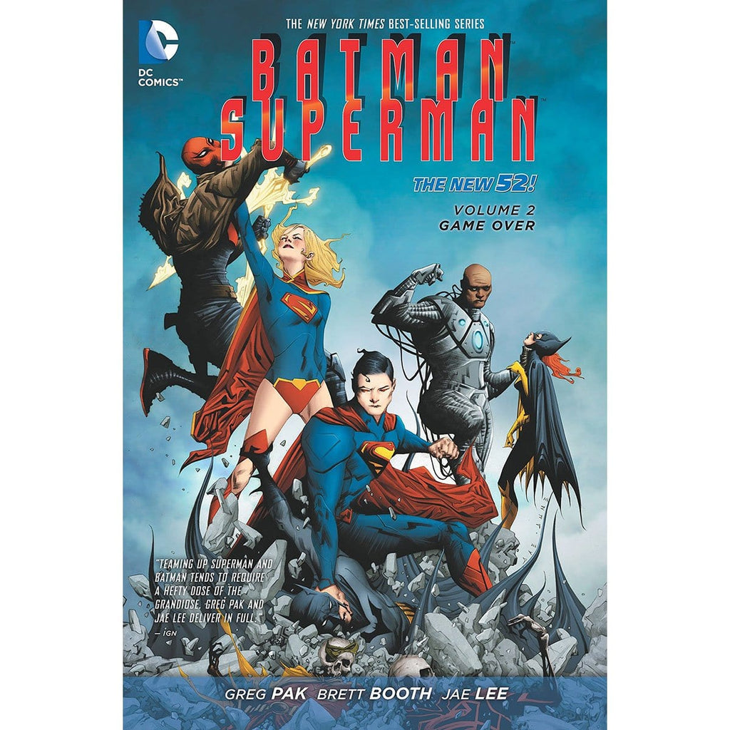 Batman/Superman Vol. 2: Game Over, [Product Type] - Daves Deals