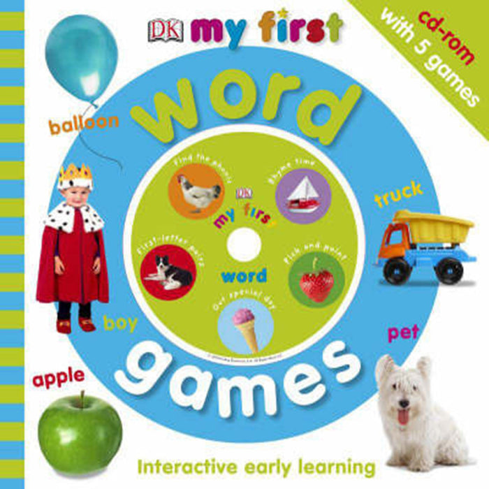 My First Word Games, by Dorling Kindersley