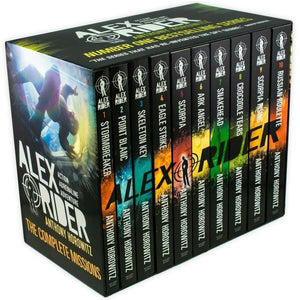 Alex Rider 10 Book Collection, [Product Type] - Daves Deals