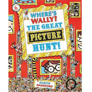 Where's Wally? The Great Picture Hunt! Where's Wally Series : Book 6