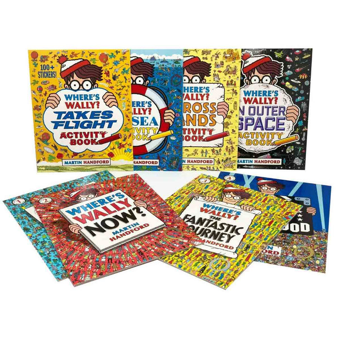 Where's Wally? 8 Book Pack