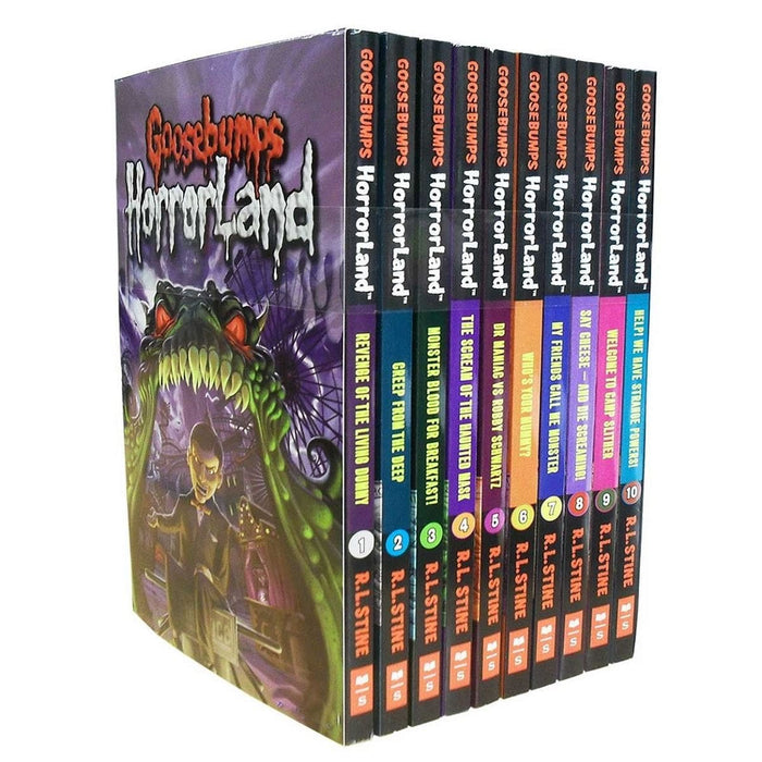 Goosebumps HorrorLand Series