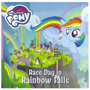My Little Pony - Race Day In Rainbow Falls, [Product Type] - Daves Deals