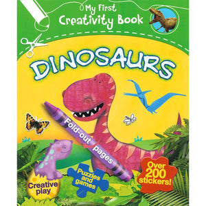 My First Creativity Book - Dinosaurs, [Product Type] - Daves Deals