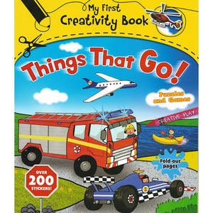 My First Creativity Book - Things That Go!, [Product Type] - Daves Deals