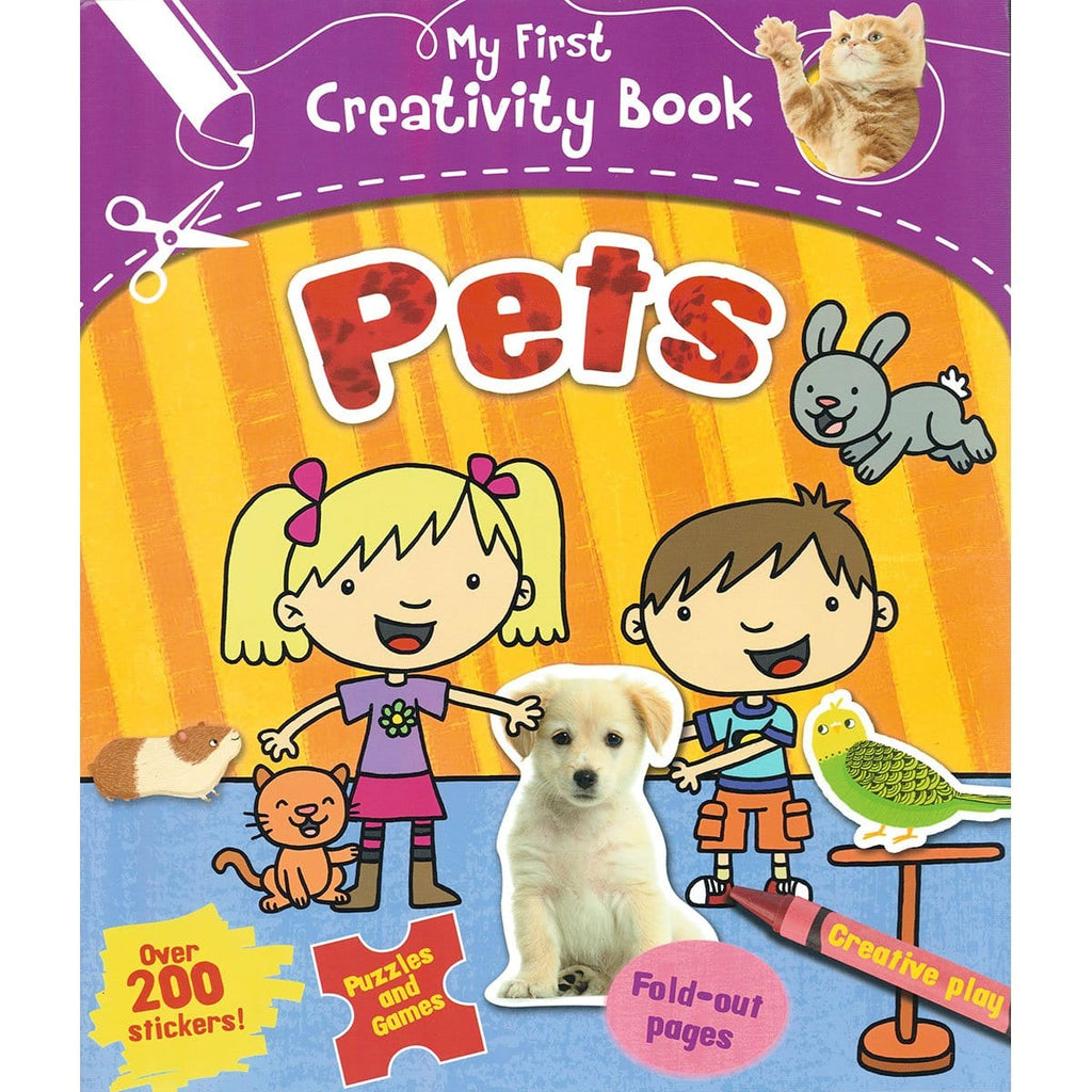 My First Creativity Book - Pets