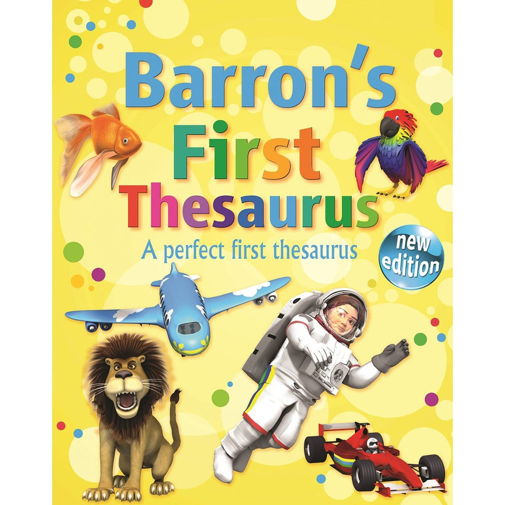 Barron's First Thesaurus, [Product Type] - Daves Deals