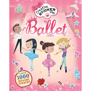 Ballet: Over 1000 Reusable Stickers!, [Product Type] - Daves Deals