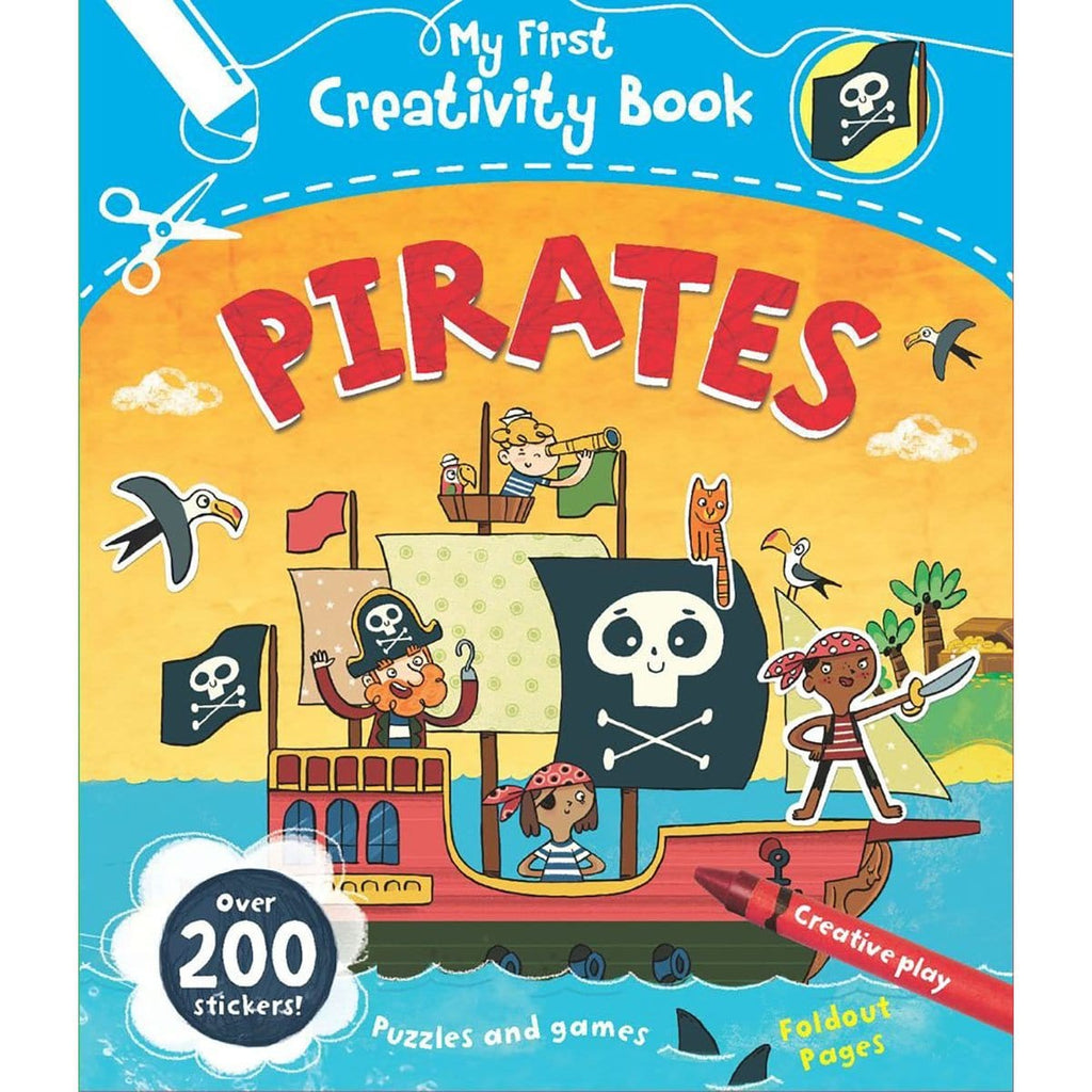 My First Creativity Book - Pirates