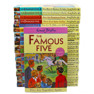 Famous Five Classic Slipcase 1-21, [Product Type] - Daves Deals
