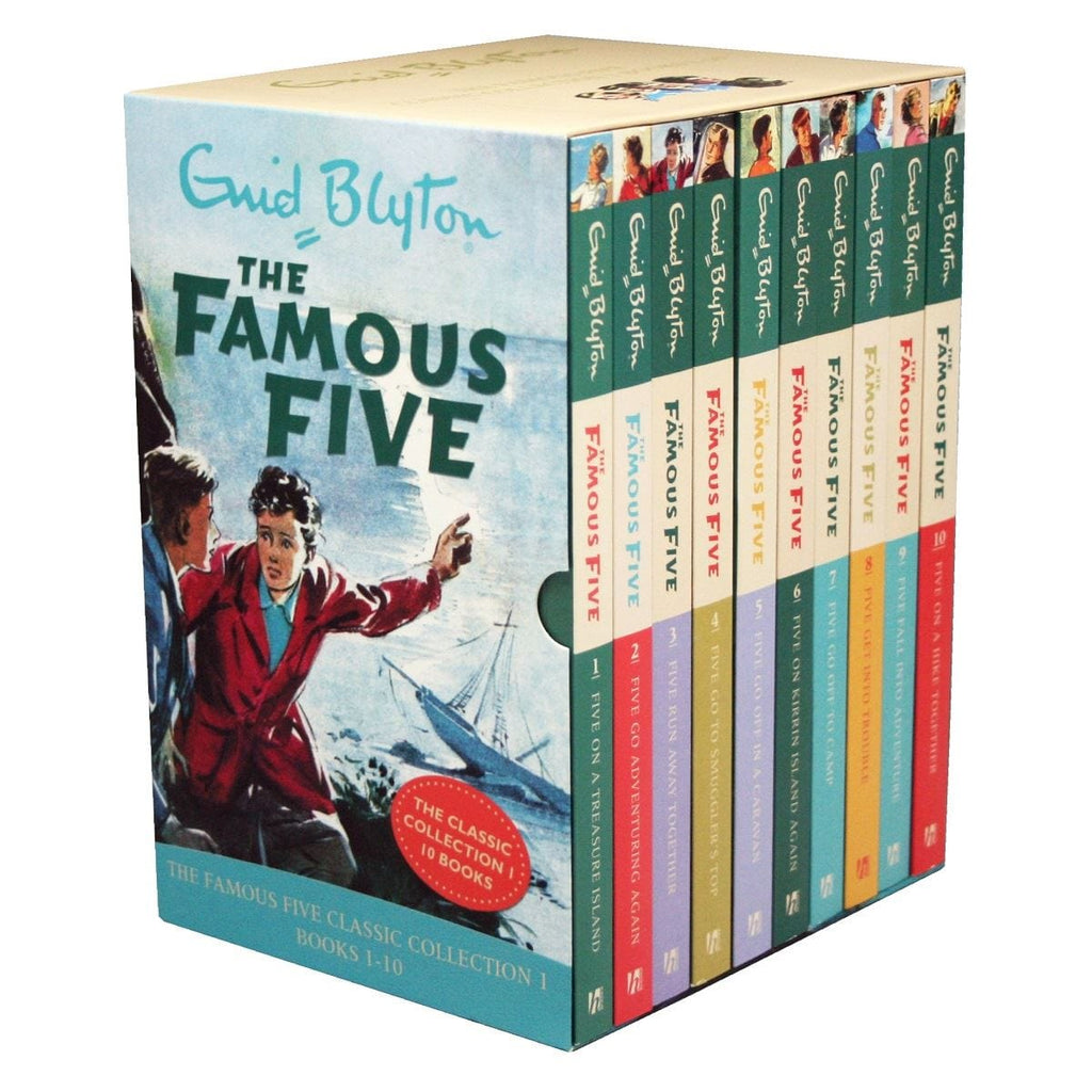 Famous Five - Classic Collection Boxset, [Product Type] - Daves Deals