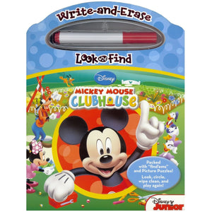 Mickey Mouse Clubhouse Write and Erase (Look and Find), [Product Type] - Daves Deals