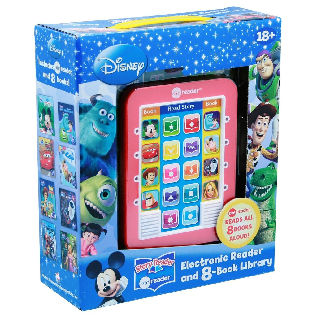 ME Reader Disney Modern - Electronic Reader and 8-Book Library, [Product Type] - Daves Deals