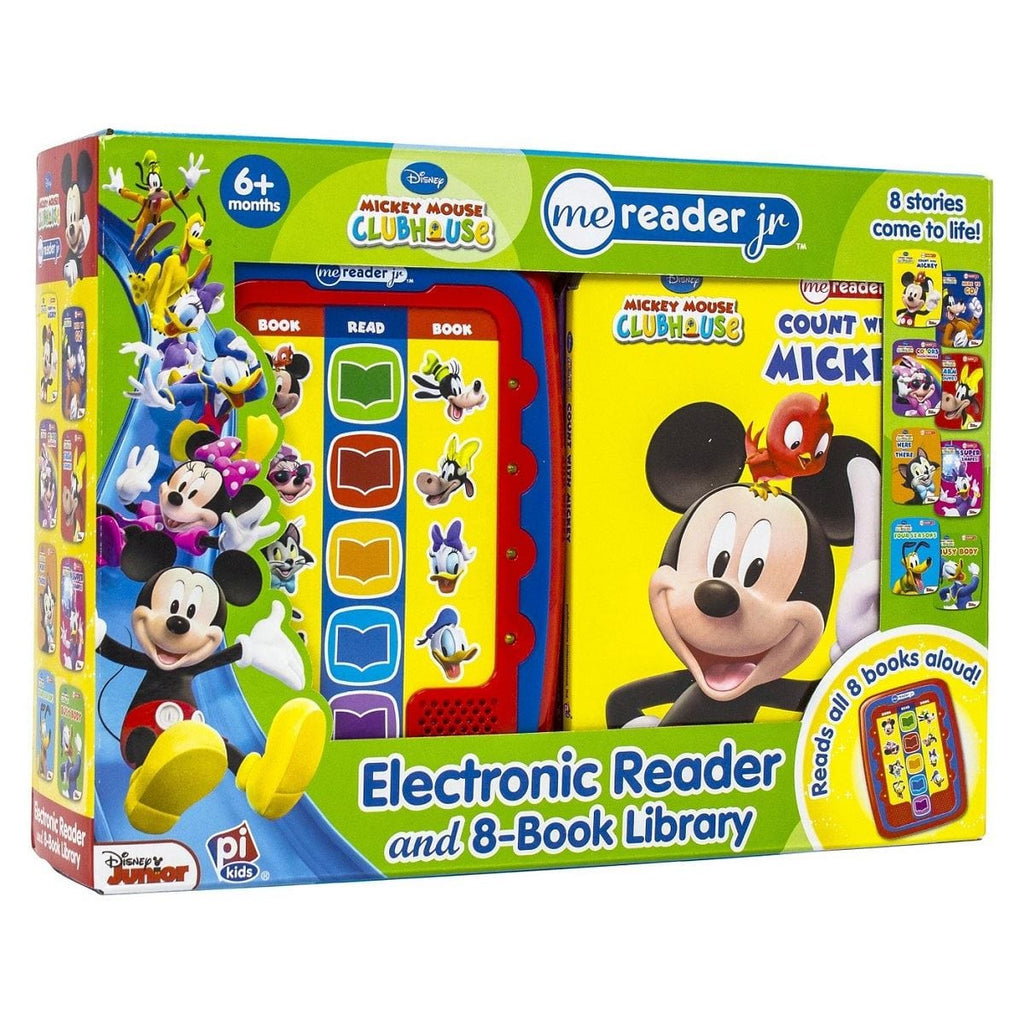 Mickey Mouse Clubhouse - Me Reader Jr. Electronic Reader and 8-Book Library, [Product Type] - Daves Deals